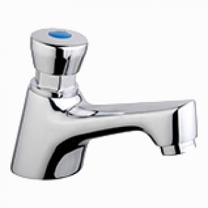 Zelfsluitende handenwasserkraan