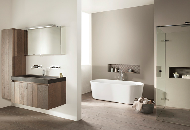 Industriële badkamer - Inspiratie - Saniweb.be